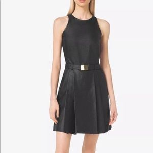 NWT Michael Kors perforated belted dress 👗